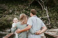 Abri, Lené & Ila's Family Shoot took place at Tsitsikamma National Park.