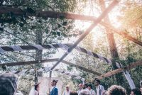 Candy & Rob's forest wedding at Peace Of Eden in Knysna.