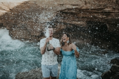 Enrica & Matt Engagement Shoot On Robberg Nature Reserve
