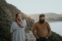 Gillian & Eddie's Engagement Shoot on Robberg Nature Reserve, Plettenberg Bay. Photography by Sharyn Hodges.