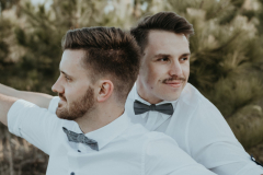 Markus & Zander Gay Couple Shoot, Harkerville, photography by Sharyn Hodges