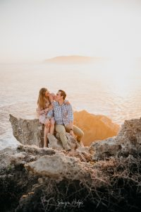 Melanie & Berno's surprise engagement on Robberg Nature Reserve