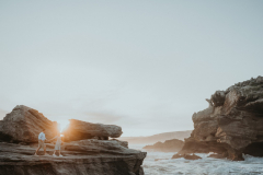 Robyn & Grant engagement shoot on Robberg Nature, photography by Sharyn Hodges