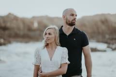 Talia & Brad's Engagement Shoot at Knysna Heads, photography by Sharyn Hodges