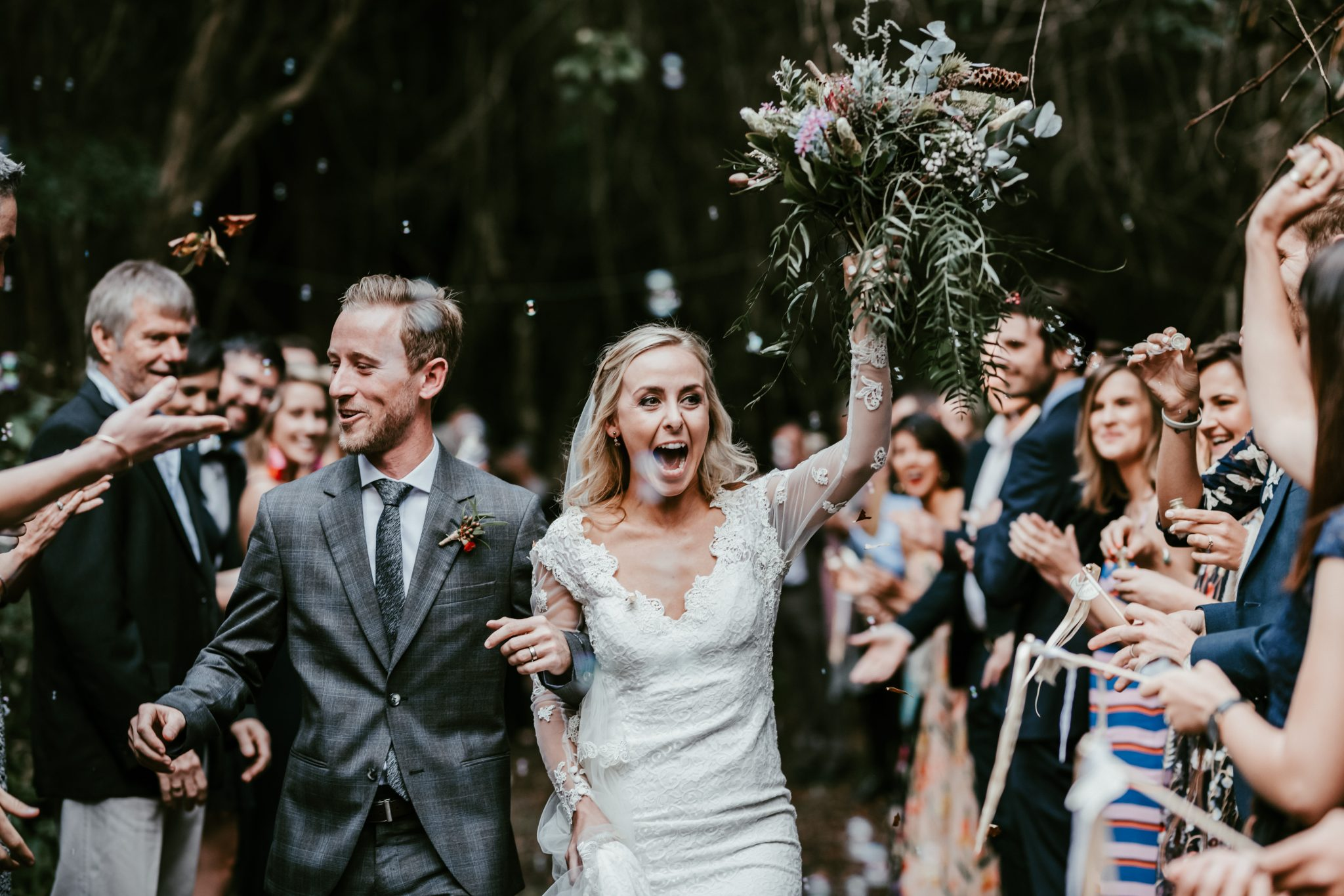 Lindsey & Mark's wedding at Natures Valley, Plettenberg Bay
