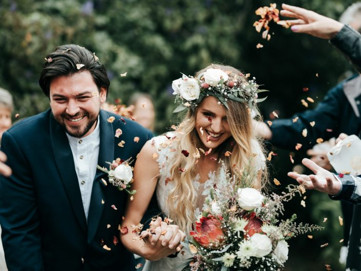 Louise & Hilton's forest wedding at Peace Of Eden in Knysna.