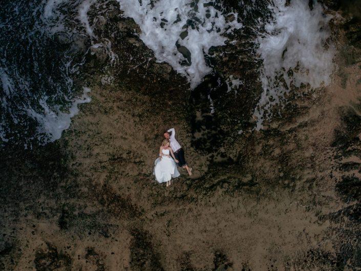 Lucia & Neil Trash The Dress at Brenton On Sea, Knysna