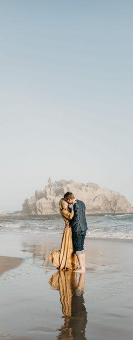Lucia & Neil Couple's Shoot at Brenton On Sea in Knysna