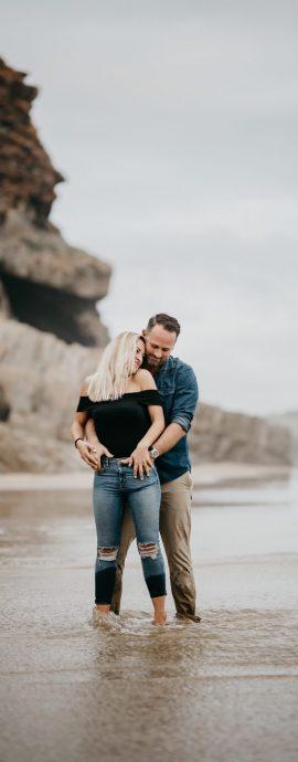 Jeani & John's engagement shoot at Robberg Nature Reserve