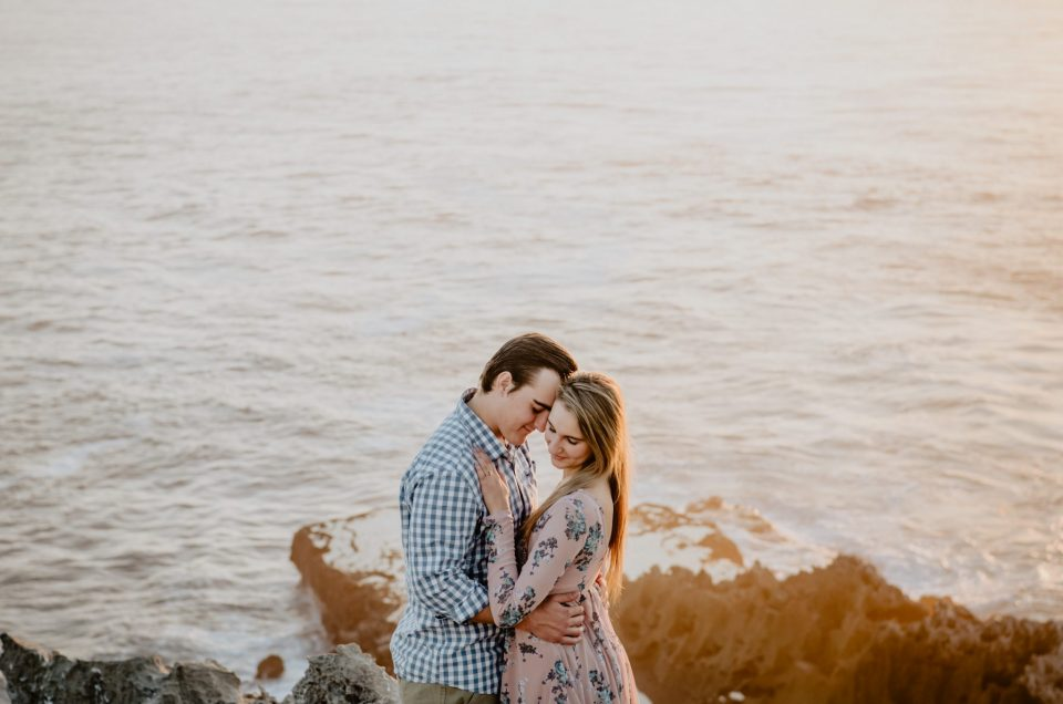 Melanie & Berno | Engagement Shoot | Robberg