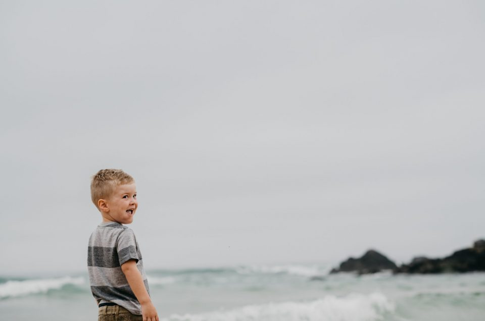 The Snyman Family shoot at Keurboomstrand, Plettenberg Bay. Photography by Sharyn Hodges.