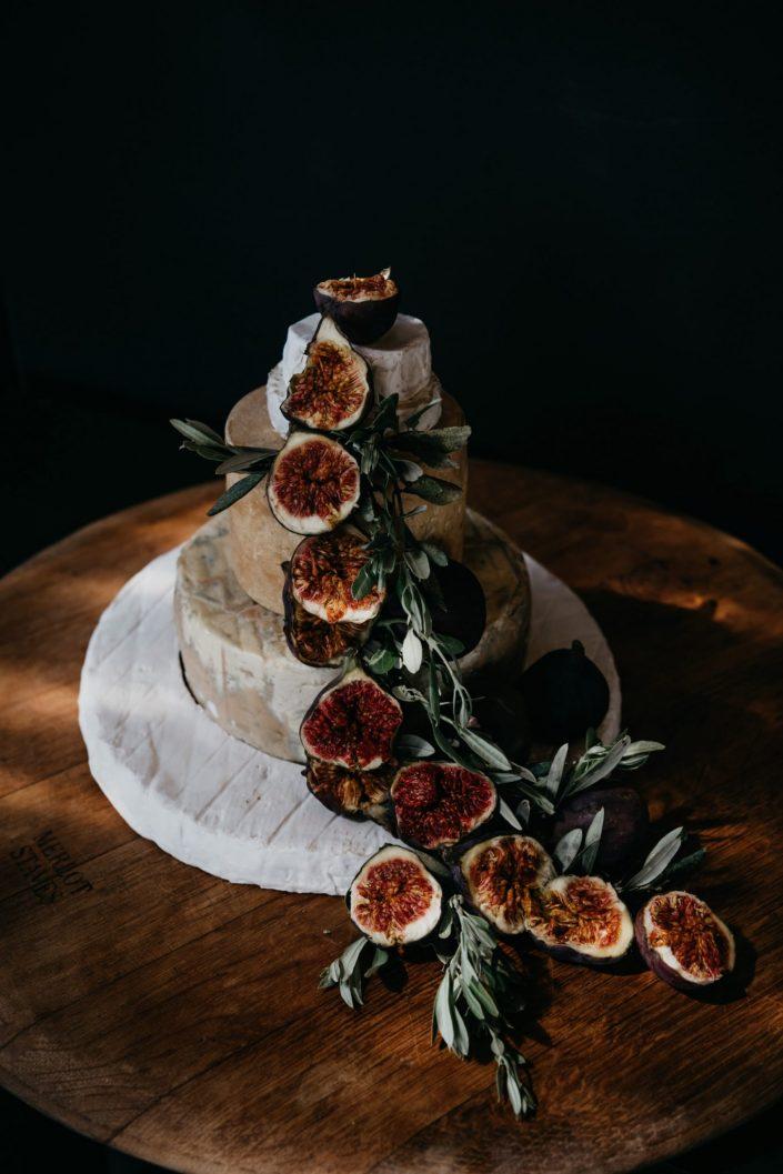 Cheese Wedding Cake by Newstead Vineyards in Plettenberg Bay.