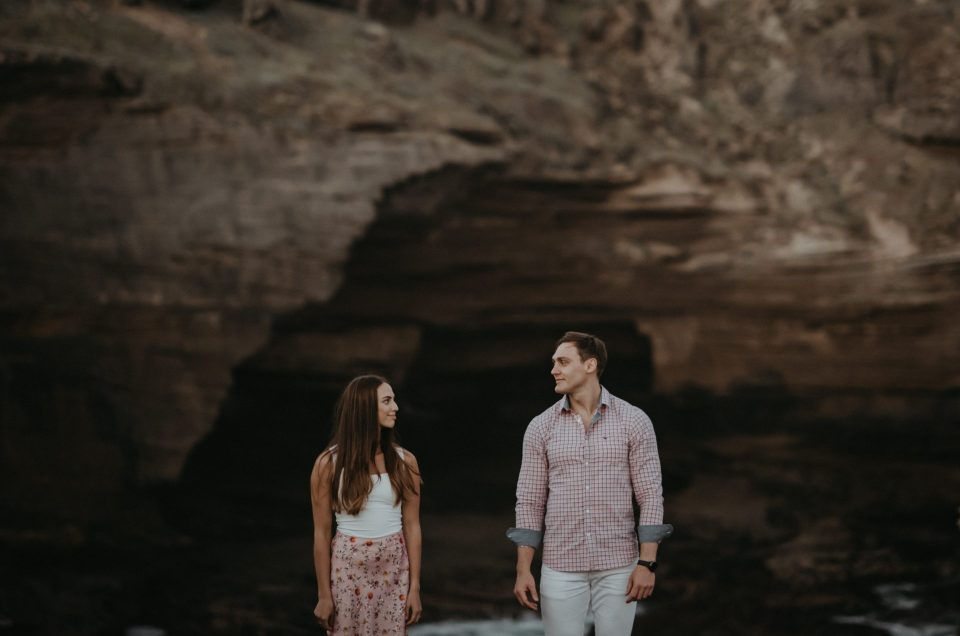 Elze & Cornel Surprise Engagement on Robberg Nature Reserve, photography by Sharyn Hodges.