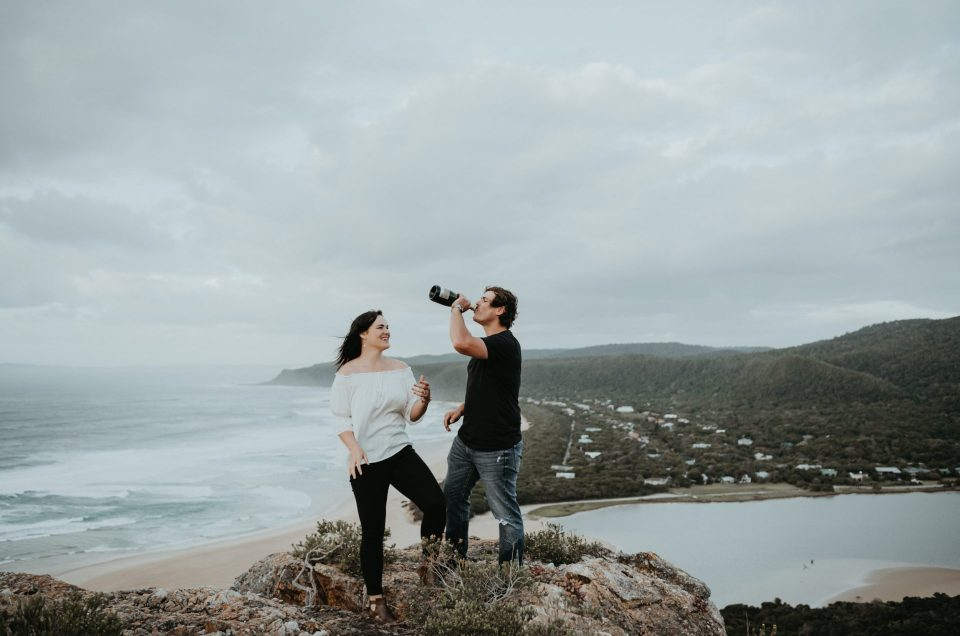 Nicky & Hein | Engagement | Pigs Head | Nature's Valley