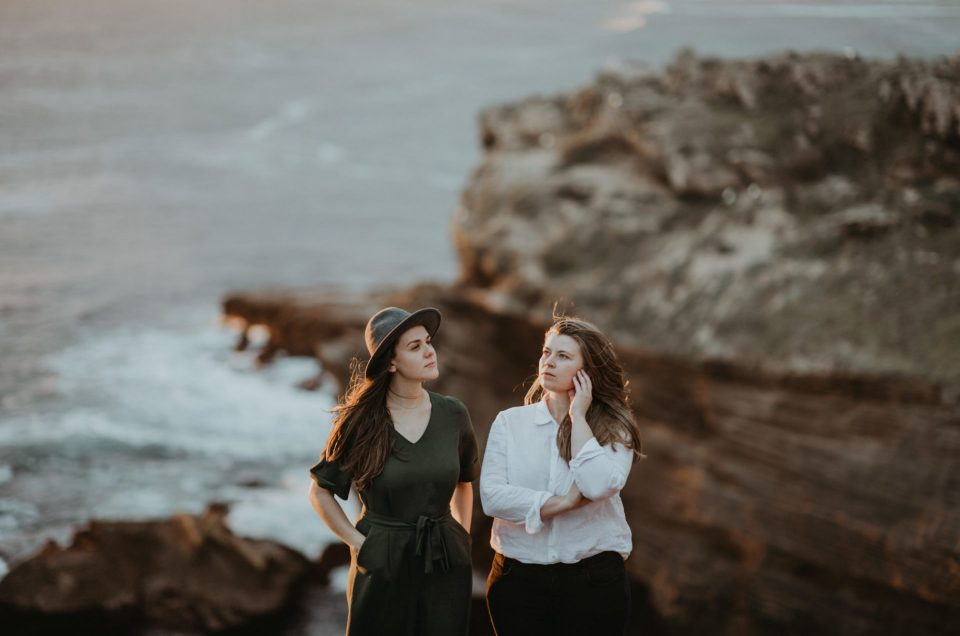 Mel & Melissa Couple Shoot on Robberg Nature Reserve, Photography by Sharyn Hodges